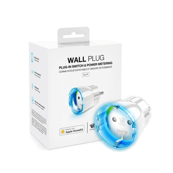 Fibaro Akıllı Priz Apple HomeKit (Wall Plug)